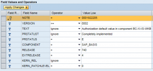 SAP System Recommendations