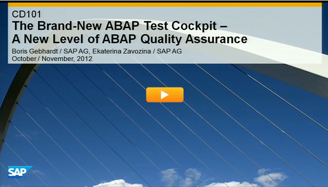 The Brand-New ABAP Test Cockpit – A New Level of ABAP Quality Assurance