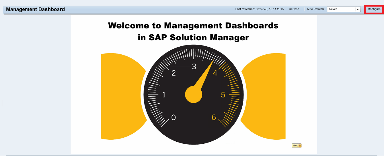 SAP Solution Manager Security Dashboard 15